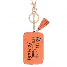 Woman Tag Keyholder Famous-ORANGE-UN