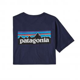 Patagonia Men's P-6 Logo Organic Cotton T-Shirt -