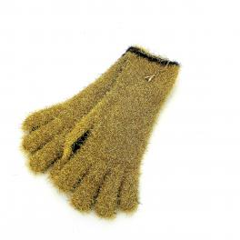 Gloves in lurex