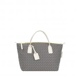 Roberta Pieri Borsa a mano Robertina Small Tatami Fun Super Gray - 1