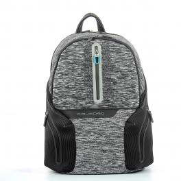 Computer Backpack w. Battery Pack Coleos 14.0-GRIGIO-UN