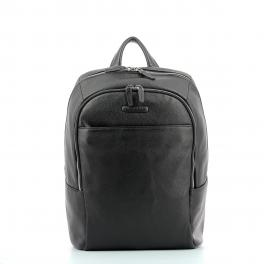 Leather Computer Backpack Modus 14.0-NERO-UN