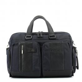 Fast-Check briefcase Connequ Brief 15.6-BLU-UN