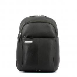 Leather Backpack Medium-TESTA/MORO-UN