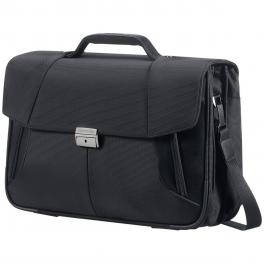 Briefcase  3 Gussets 15.6-BLACK-UN
