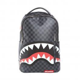 Sprayground Zaino Grey Shark in Paris Limited Edition - 1