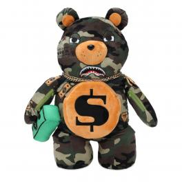 Sprayground Zaino Money Bear Camo Limited Edition - 1